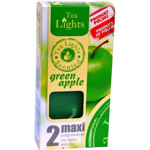Admit Scented Maxilights podgrzewacze zapachowe typu maxi 59 mm ~ 10 h 2 szt - Green Apple