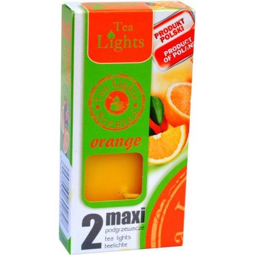 Admit Scented Maxilights podgrzewacze zapachowe typu maxi 59 mm ~ 10 h 2 szt - Orange