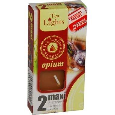 Admit Scented Maxilights podgrzewacze zapachowe typu maxi 59 mm ~ 10 h 2 szt - Opium