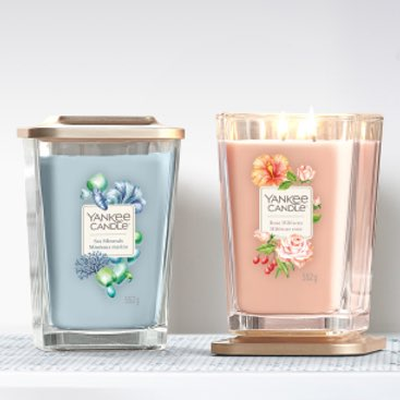 Elevation Yankee Candle 2021 spring and summer scented candles